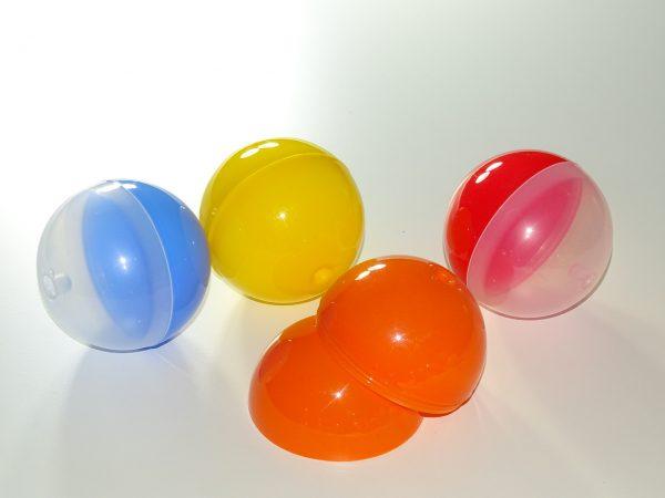 BOLA 90 ABRE FACIL.bolas regalos 600x450 - Bola de plástico diámetro 90 con abre fácil