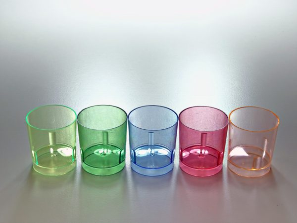 CHUPITO COLORES 600x450 - Vaso de chupito de plástico cristal colores