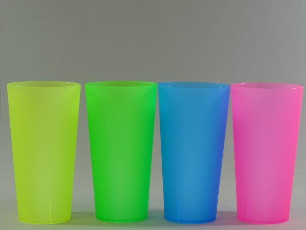 ECO COLORES 600x450 - Vasos eco reutilizables de colores