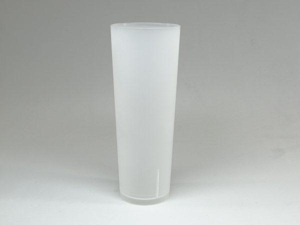 ECO TUBO 330 600x450 - Vaso tubo 330cc eco reutilizable