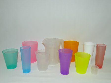 Gama vasos de plástico irrompibles