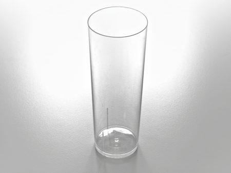 TUBO 300 450x338 - Vaso de tubo de plástico cristal 300cc
