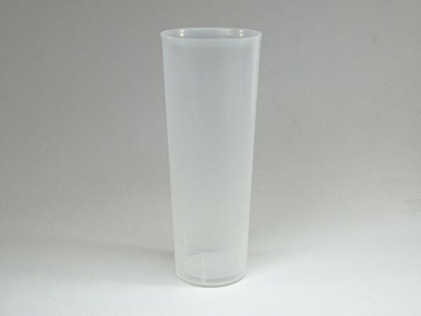 TUBO 300.irrombiple 600x450 - Vaso de tubo 300cc de plástico irrompible