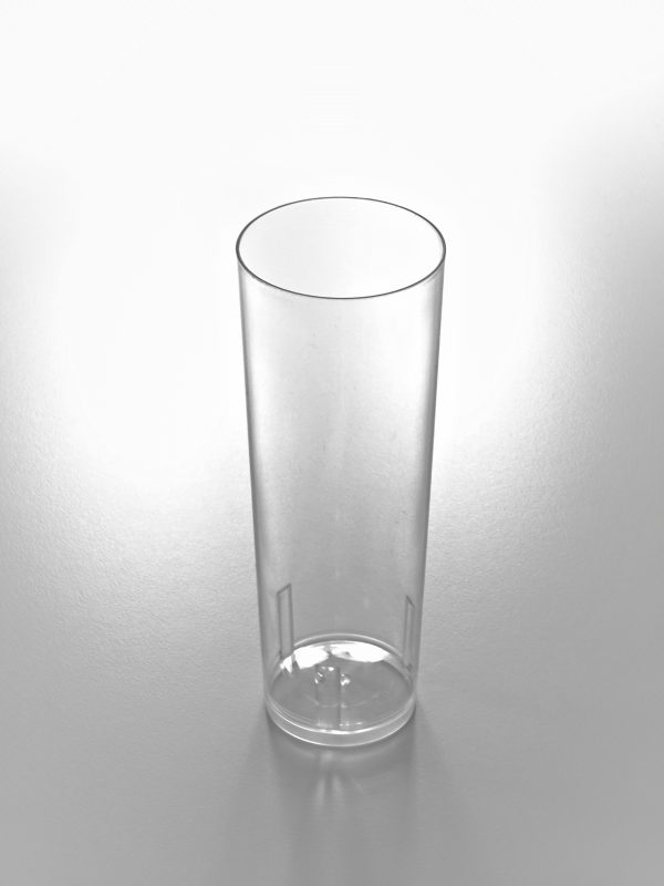 TUBO 330 600x800 - Vaso de tubo de plástico cristal 330cc