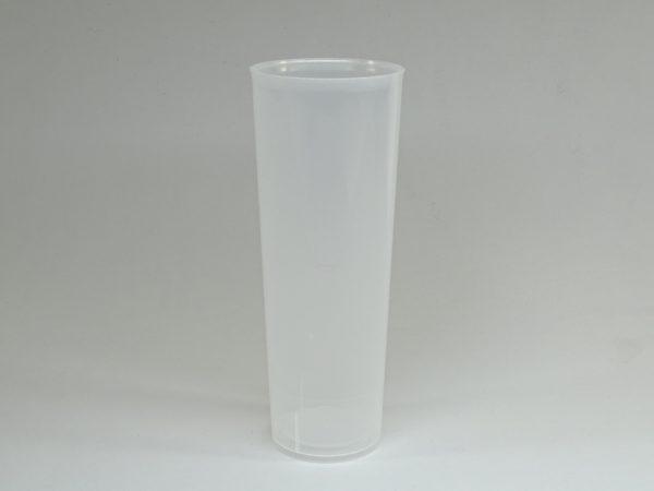 TUBO 330.irrombiple 600x450 - Vaso de tubo 330cc de plástico irrompible
